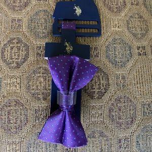 Polo Ralph Lauren means bow tie